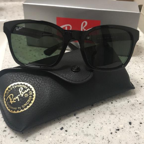 976ce7f7c894 Ray-Ban Accessories | Salerayban Square Green Polarized Sunglasses ...